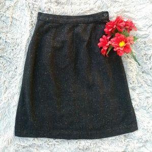 Vintage | Multicolored Speckled Midi Skirt